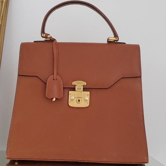 1111ffabc Gucci Bags | Vintage Kelly Bag Brown Gold Hardware Purse | Poshmark